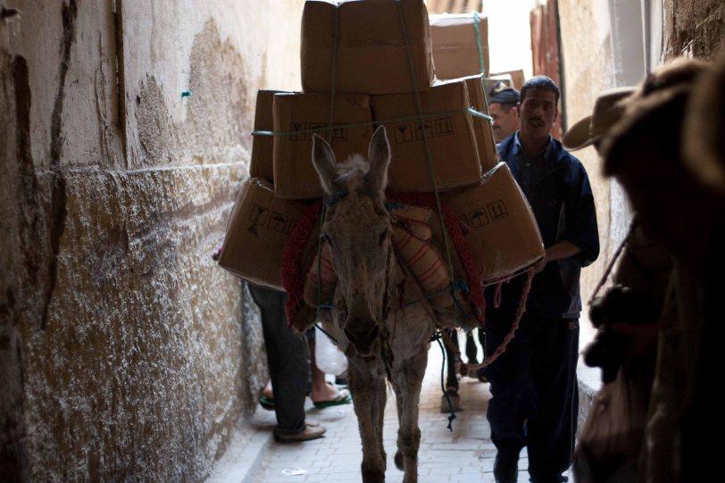 Fez-Ex Delivery Vehicle