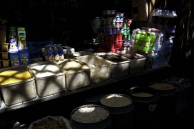 The spice market in Fez